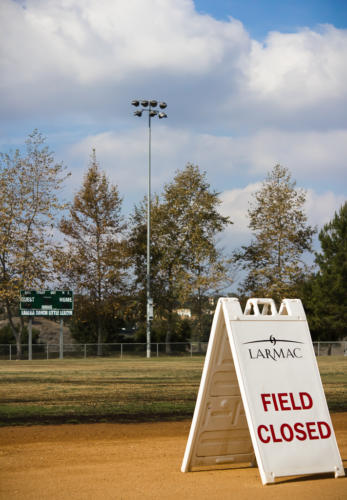 Field Closed, Ladera Ranch Sports Park