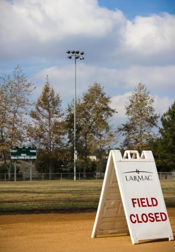 Field Closed, Ladera Ranch Sports Park